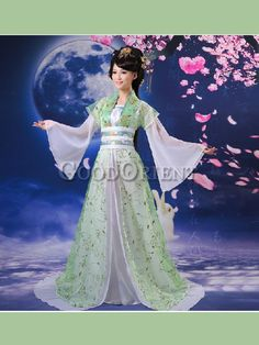 Fineness Han Chinese clothing of costume for performance