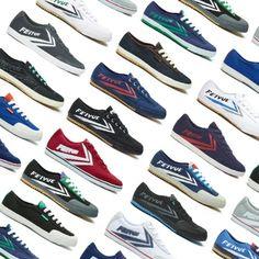 Feiyue For Men - Flying Forward Men's Sneaker Styles Sneakers Fashion, Fashion Shoes, Fashion Accessories, Fresh Outfits, Sneaker Brands, Cool Things To Buy, Stuff To Buy, New Kids, Buy Shoes