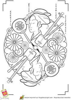 mandala japon geisha