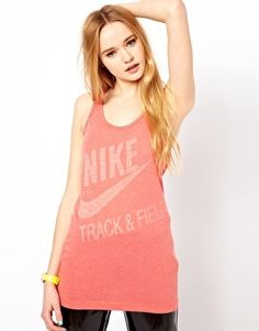 Nike Track And Field Vest at ASOS. Wholesale Fashion Shoes, Wholesale Shoes, New Fashion, High Fashion, Womens Fashion, Cheap Fashion, Ladies Fashion, Nike Track And Field, Nikes Girl