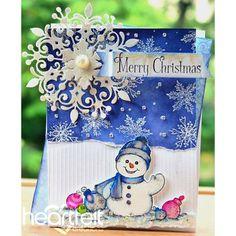 Heartfelt Creations - Ornamental Snowman Project