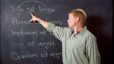 Learn Latin from the funniest Latin teacher around.hmmm, interesting