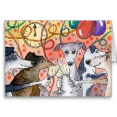 Sighthounds are the original party animals...