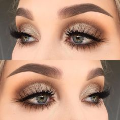 # Make-up 2018 Winter Themen Augen Make-up Looks & Ideen # 12 + . - Eye Makeup Looks - Make-up Love Makeup, Makeup Inspo, Makeup Inspiration, Makeup Tips, Makeup Ideas, Makeup Tutorials, Makeup Lessons, Makeup Geek, Simple Makeup