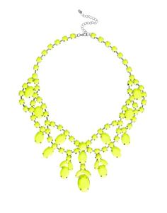 Browse online for the newest ASOS Premium Jewelled Bib Necklace styles. Shop easier with ASOS' multiple payments and return options (Ts&Cs apply). Yellow Necklace, Beaded Necklace, Necklaces, Jewelry Box, Jewelry Accessories, Fashion Accessories, Jewellery, Locket Charms, Feminine Fashion