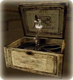 girls farming Jewelry Box | Ballerina Musical Box