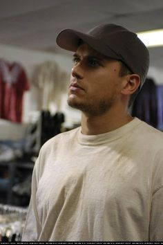 Wentworth Miller as Michael Scofield in Prison Break