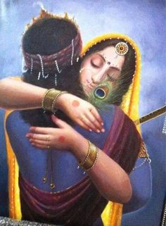 Never for once think that Krishna doesnt loves us. He embraces everyone, accepts everyone. How will we explain the meaning of love to him who in returns explains the meaning of life.