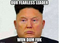 A roundup of the best memes and tweets reacting to Donald Trump's nuclear war threat against North Korea.