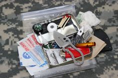Great Altoids mini survival tin example by BudgetBugout (has other great ideas & videos too)