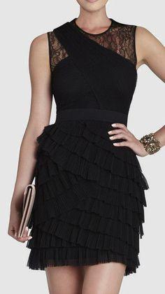 BCBG Max Azria  Jaya Pleated Sleeveless Dress love the skirt