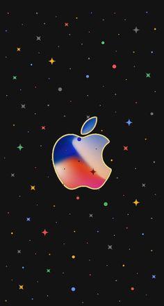 Apple Logo Wallpaper Iphone, Watch Wallpaper, Star Wallpaper, More Wallpaper, Wallpaper Backgrounds, Apple Background, Mickey Mouse Wallpaper, Apple Decorations, Kawaii