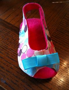 Fabric Very Simple Baby Sandals