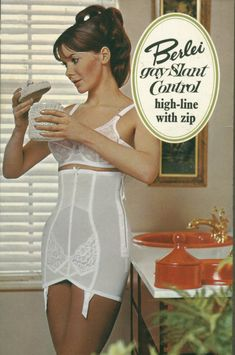 My first and still favourite open bottom girdle... there's something about the name!