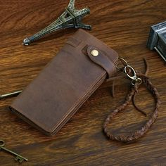 Cheap wallet card holder, Buy Quality horse leather directly from China crazy horse leather Suppliers: J.D Crazy Horse Leather Fashion High Quality Purse Wallet Card Holder Canvas Messenger Bag, Messenger Bag Men, Crazy Horse, Leather Chain, Leather Purses, Leather Clutch, Leather Wallets, Cowhide Leather, Leather Men