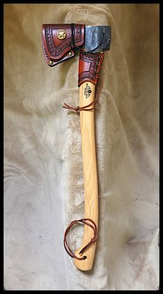 Gransfors Bruks Scandinavian Forest Axe # 430 with Custom Leather by John Black