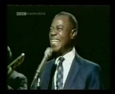louis armstrong's classic #disney hit - the bare necessities. The most smiley singer I've ever seen.