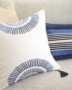 Living room layers | Sunset Pillow Cover via Serena & Lily