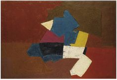 Serge Poliakoff - Abstract Composition [1951]   par Gandalf's Gallery