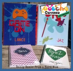 Gotcha Covered Notebooks #Review + #Giveaway {US, ends 7/14}