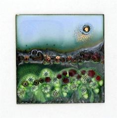 Carol Griffin Enamels - these panels are lovely.