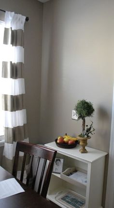 Why can I make 100 decisions, but the commitment of paint colors or buying a duvet gives me anxiety? Brandon Beige by Benjamin Moore