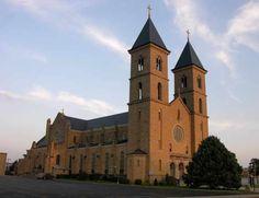 St Fidelis Catholic Church  Victoria, KS