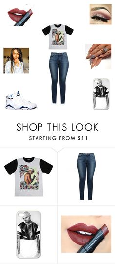 """""""Untitled #307"""" by shaylaallen ❤ liked on Polyvore featuring Levi's and Fiebiger"""
