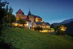 This small castle hotel is set in its own vineyard and offers views of the beautiful Murg Valley. Romantic Road, Romantic Getaway, Most Romantic, Stay In A Castle, High Castle, Post Hotel, Small Castles, Castle Wall, Luxury Spa