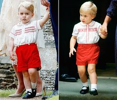 Prince George Wears Identical Outfit to Prince William When He Was 2 - Us Weekly