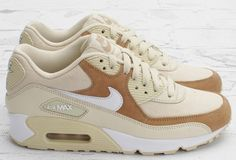 Nike WMNS Air Max 90 - Beige / Brown | KicksOnFire