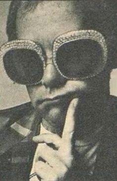 Elton's glasses