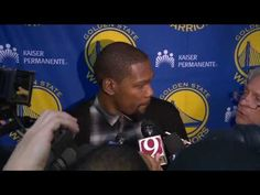 Kevin Durant Pregame Interview |Warriors vs Thunder |February 11, 2017  ...