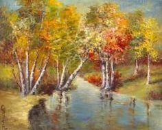 Charles P. Austin (1883-1948) ~ Autumn Reflections