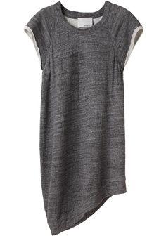 Robe sweat asymétrique