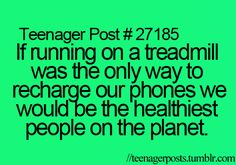 Yes, yes we would.. they should really make one of these and it doesn't even need to just be treadmills