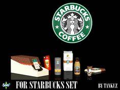 For Starbucks Set by Tankuz - Sims 3 Downloads CC Caboodle