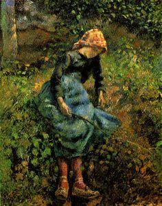 Camille Pissarro (French, Impressionism, 1830-1903): 1870 - Google Search