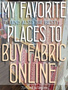 BEST Places To Buy Fabric Online! The BEST Places To Buy Fabric Online! These are my favorite go-to shops where is spend all my money! :)The BEST Places To Buy Fabric Online! These are my favorite go-to shops where is spend all my money! Sewing Projects For Beginners, Sewing Tutorials, Sewing Hacks, Sewing Crafts, Sewing Tips, Sewing Ideas, Sewing Patterns Free, Free Sewing, Quilt Patterns
