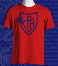 FC Basel of Switzerland UEFA Football Soccer T-shirt