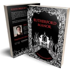 Rutherford Manor short story collection and graphic novel Horror Books, Beautiful Cover, Color Balance, Short Stories, Novels, Coloring, Romantic, Touch, Writing