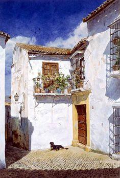 """José González Bueno Nacido en Málaga, el 20 de Junio de 1957. Realiza sus primeros estudios artísticos de Dibujo y Óleo en la Academia de Pintura """"Velázquez"""", a cargo del Maestro D. Juan Baena, sig…"""