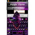 GO Keyboard Purple Flame Pro - Android Apps on Google Play Android Theme, Android Apps, Google Play, Keyboard, Purple, Phone, Unique, Telephone, Viola