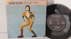 DAVID BOWIE rock 'n' roll suicide, 7 inch single, BOW 503 - SINGLES all genres, Including PICTURE DISCS, DIE-CUT, 7