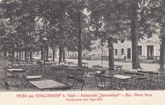 """Gruss aus Schulzendorf b. Tegel, Restaurant """"Sommerlust"""" Um 1913"""