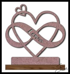 Scrollsaw Workshop: Infinity Love Scroll Saw Pattern