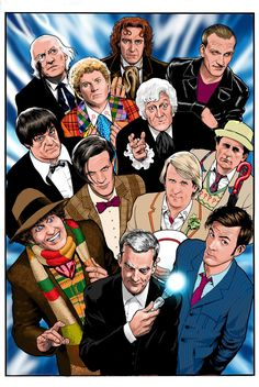 Doctor Who - All the Doctors by Kevin Maguire