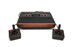 Released in September 1977, the Atari Video Computer System (VCS) was one of the earliest video game systems and is widely credited with helping lay the foundation for what would become a multi-billion-dollar industry.  Learn more about this pioneering console on toytales.ca #atari #videogames