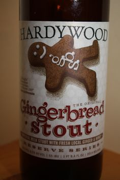 Hardywood - Gingerbread Stout - Delicious