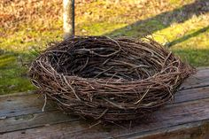 """Photo prop...homemade birds nest 24"""" round  I need to make a few of these for a project-can you tell me how?"""